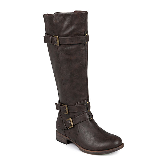 Journee Collection Womens Bite Wide Calf Tall Boots