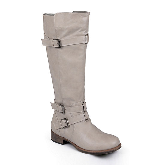 Journee Collection Womens Bite Tall Boots