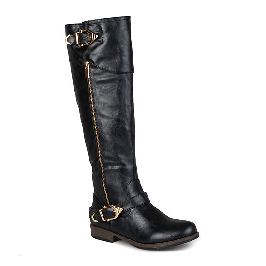 Journee Collection Womens Barb Wide Calf Boots