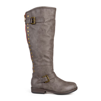 Journee Collection Spokane Wide Calf Riding Boots