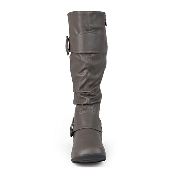 Journee Collection Paris Womens Slouch Riding Boots