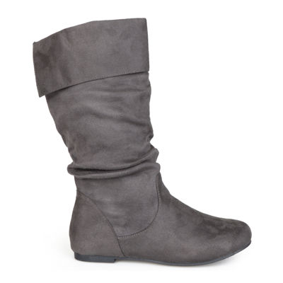 Journee Collection Shelley Mid Shaft Womens Boots