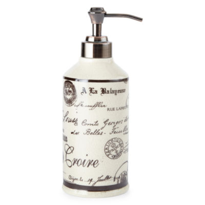 Edwardian Script Soap Dispenser