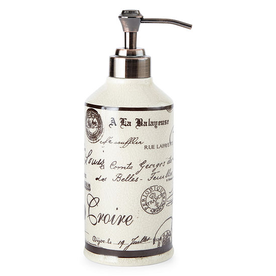 Edwardian Script Soap Dispenser