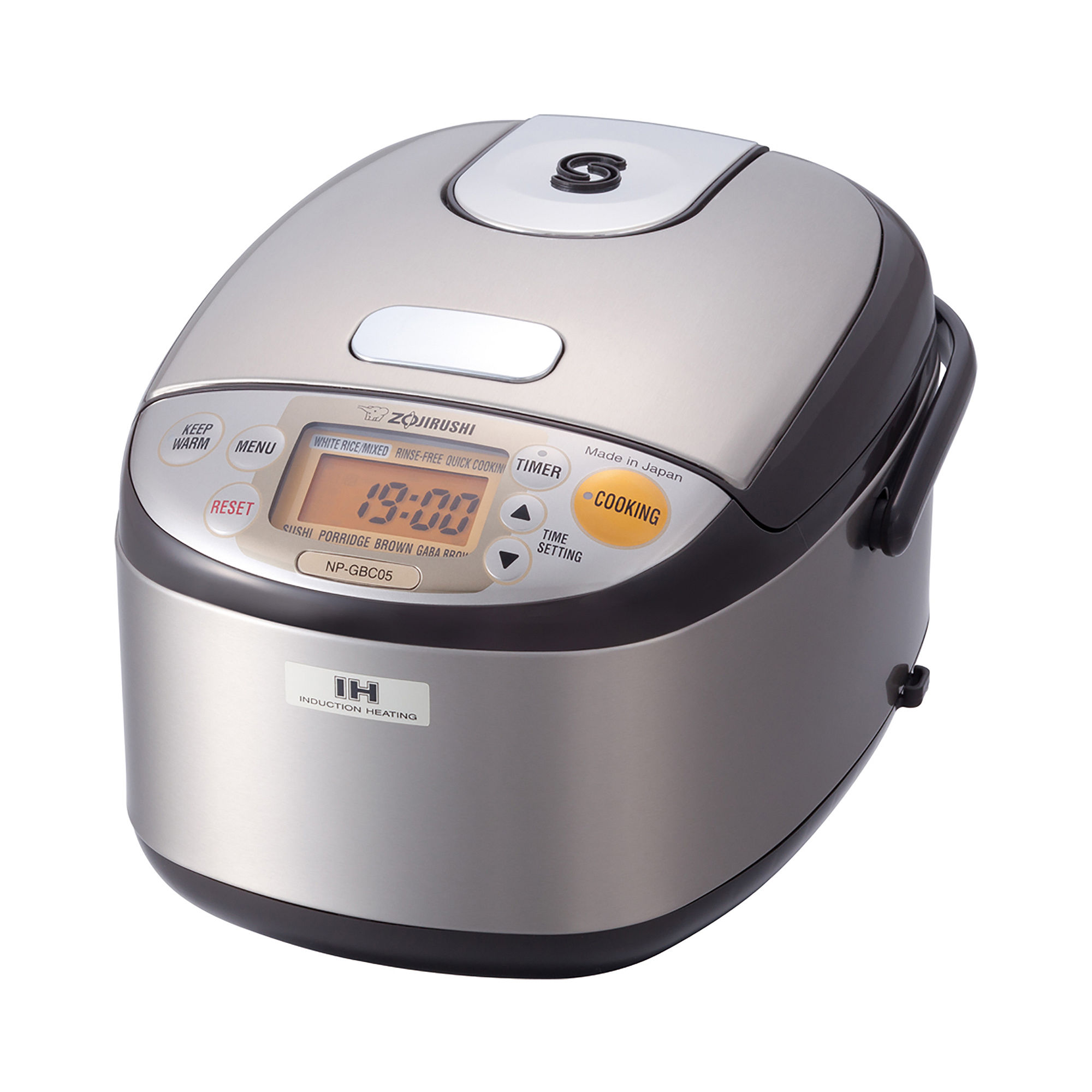 Zojirushi™ 3-Cup Induction Heating System Rice Cooker and Warmer