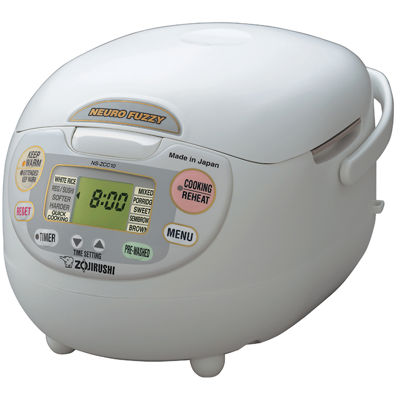 Zojirushi™ Neuro Fuzzy® 5½-Cup Rice Cooker and Warmer