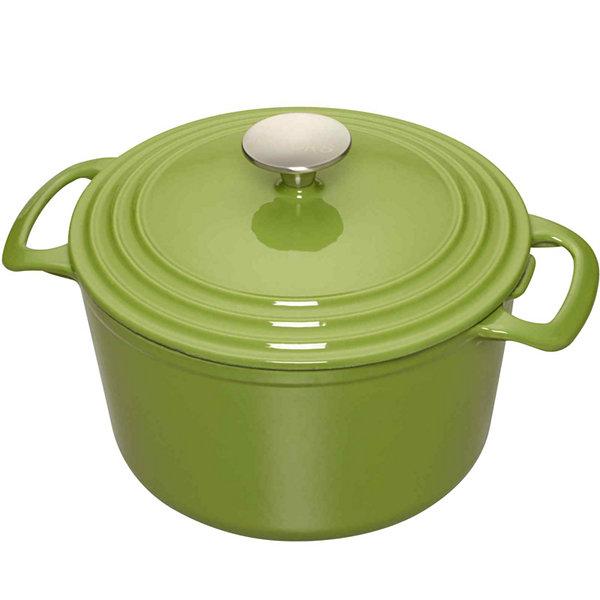 Cooks 3 Qt Enamel Cast Iron Dutch Oven