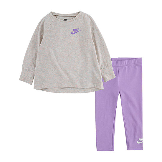 Nike Little Girls 2-pc. Legging Set
