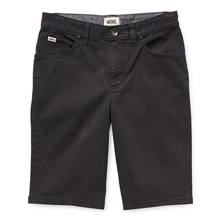 Vans Little & Big Boys Mid Rise Chino Short. 20 . Black