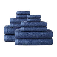 Home Expressions Solid 12-pc. Solid Bath Towel Set, One Size , Gray