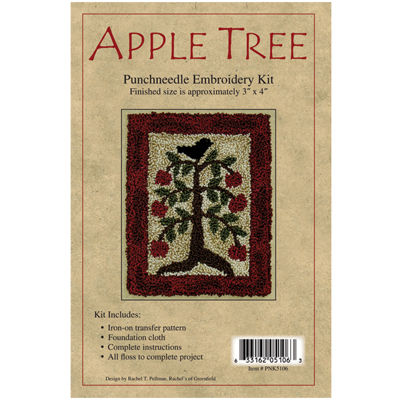 Apple Tree Punch Needle Kit