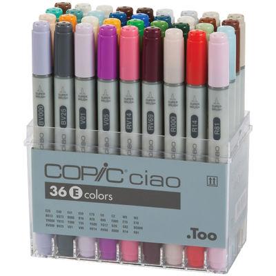 Copic Ciao 36-pc. Marker Set—Set E