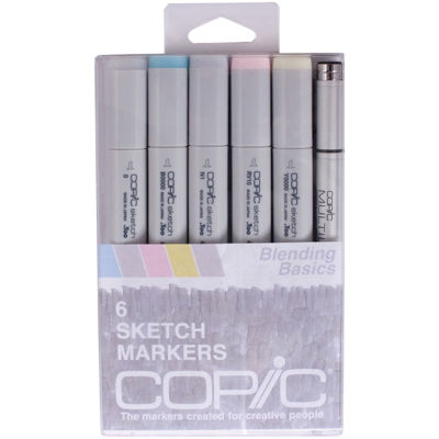 Sketch Markers/Multi-liner Pen-Blending Basics