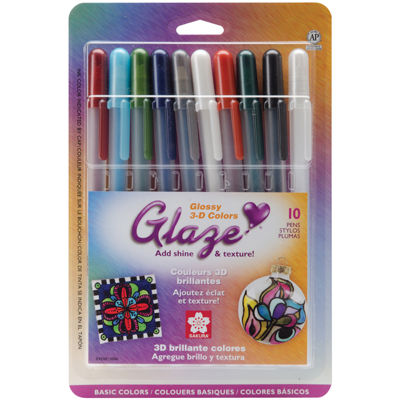 Gelly Roll Glaze Pens - Basics