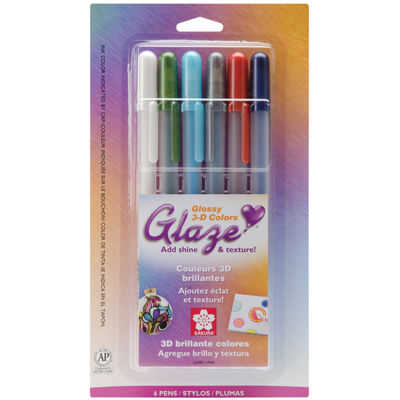 Gelly Roll Glaze Pens – 6 Pack