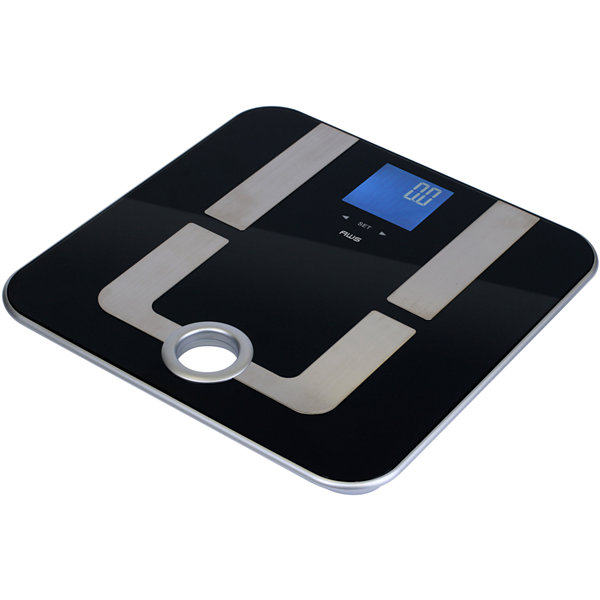 AWS Digital Personal Bath Body-Fat Scale with Handle