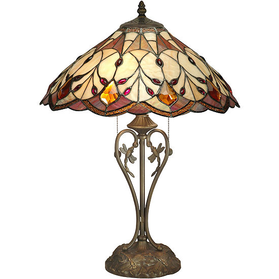 Dale Tiffany Patrice Jeweld Table Lamp