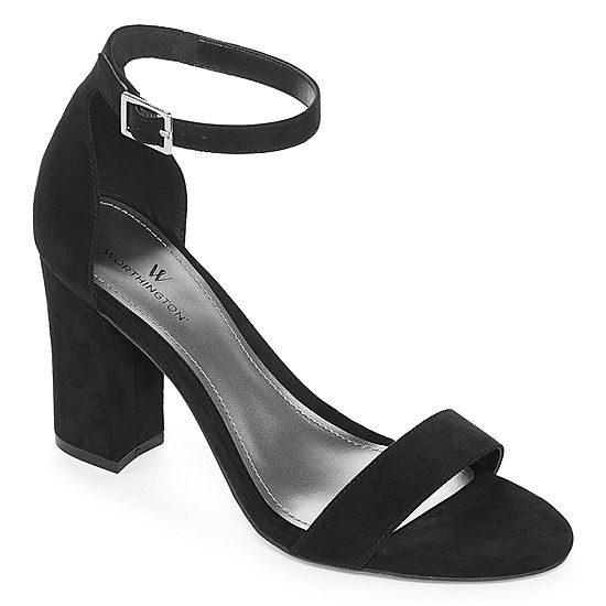 91423abcfaab Worthington Womens Beckwith Heeled Sandals - JCPenney