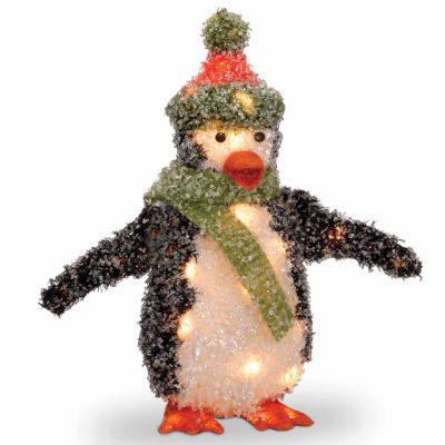 "National Tree Company® 18"" Peguin with Clear Lights"