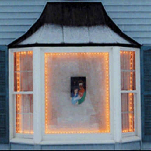 The Window Wonder Frame Kit For Mini Christmas Lights  4 Rod Pack