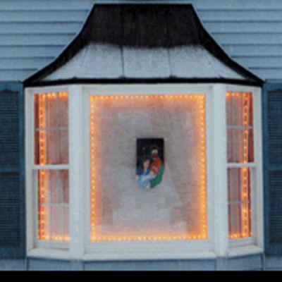 The Window Wonder Frame Kit For Mini Christmas Lights 4 Rod Pack