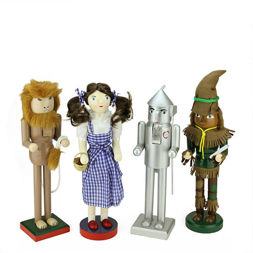 Wizard of Oz Wooden Nutcrackers- Set of 4