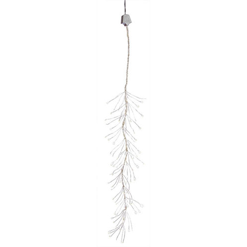 Set Of 144 Warm White Multi-Function LED Snowfalling Branch Lights