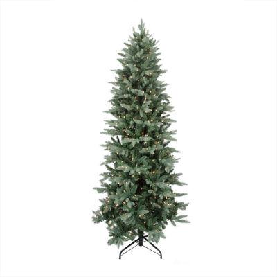 6.5' Pre-Lit Washington Frasier Fir Slim Artificial Christmas Tree with Clear Lights