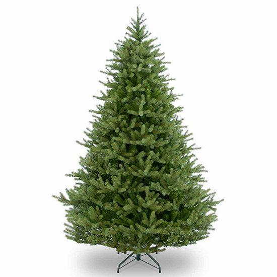 "National Tree Co. 7 1/2 Foot Feel-Real"" Norway Spruce Hinged"" Spruce Christmas Tree"