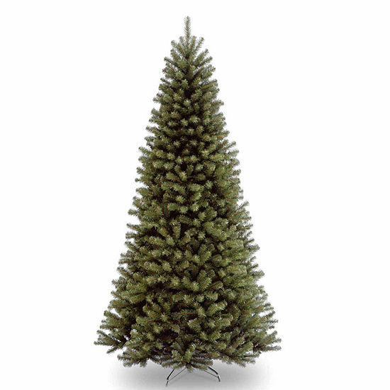 National Tree Co. 9 Foot North Valley Spruce Hinged Spruce Christmas Tree