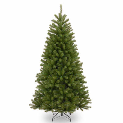 National Tree Co. 7 1/2 Foot North Valley Spruce Hinged Christmas Tree