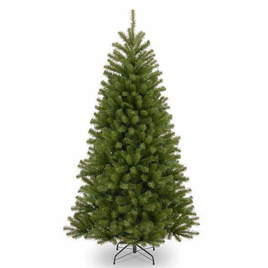 National Tree Co. 7 1/2 Foot North Valley Spruce Hinged Spruce Christmas Tree