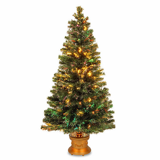 National Tree Co. 5 Foot Evergreen Firework Pre-Lit Christmas Tree