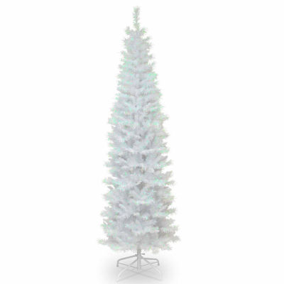 National Tree Co. 6 Foot White Iridescent Tinsel Christmas Tree