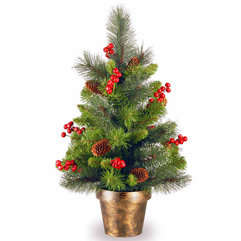 National Tree Co. 2 Foot Crestwood Spruce Christmas Tree