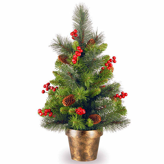 National Tree Co. 2 Foot Crestwood Spruce Spruce Christmas Tree
