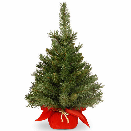 National Tree Co. 2 Foot Majestic Fir Fir Christmas Tree