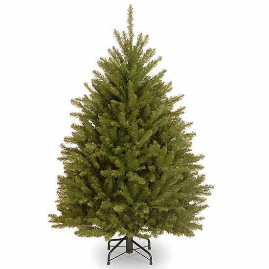 National Tree Co. 4 1/2 Foot Dunhill Fir Hinged Fir Christmas Tree