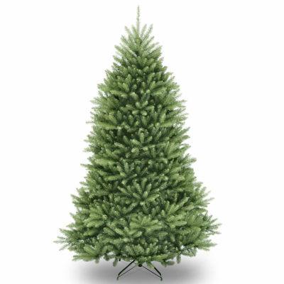 National Tree Co. 6 1/2 Foot Dunhill Fir Hinged Fir Christmas Tree