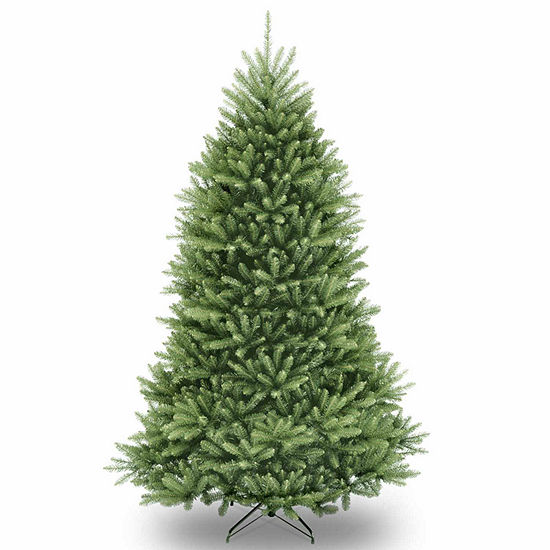 National Tree Co. 7 1/2 Foot Dunhill Fir Hinged Fir Christmas Tree
