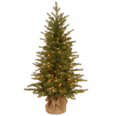 National Tree Co. 4 Foot Nordice Spruce Spruce Pre-Lit Christmas Tree