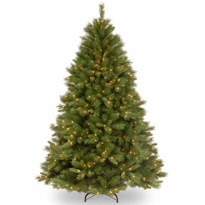 National Tree Co. 7 1/2 Foot Winchester Pine Pine Pre-Lit Christmas Tree