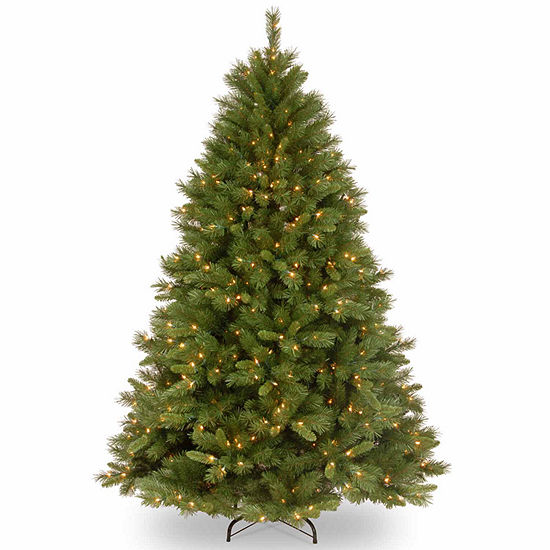 National Tree Co 7 1 2 Foot Winchester Pine Pine Pre Lit Christmas Tree