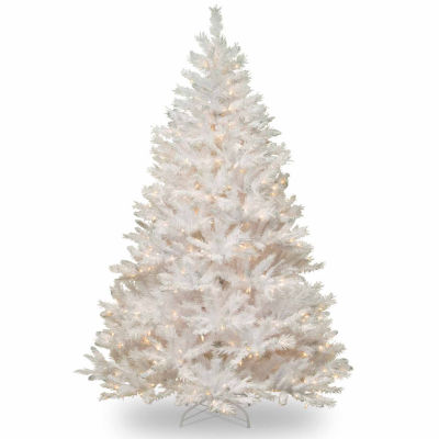 National Tree Co. 7 Foot Winchester White Pine Pine Pre-Lit Christmas Tree
