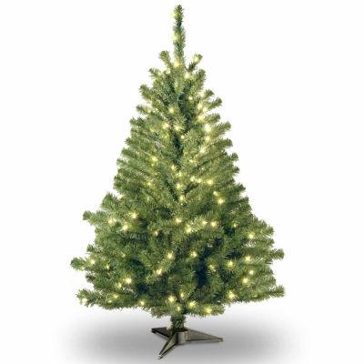 National Tree Co. 4 Foot Kincaid Spruce Spruce Pre-Lit Christmas Tree