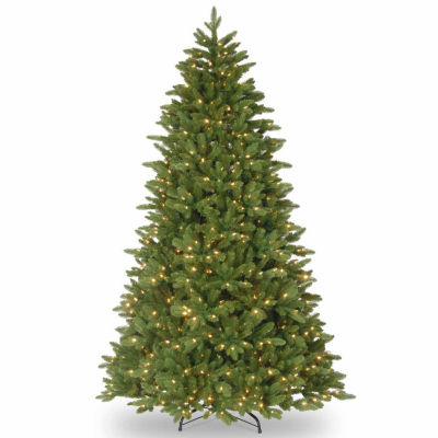 National Tree Co. 7 1/2 Foot Ridgewood Spruce Spruce Pre-Lit Christmas Tree