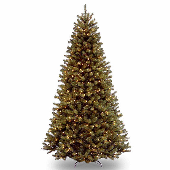 size 40 cc04a e462c National Tree Co. 9 Foot North Valley Spruce Hinged Spruce Pre-Lit  Christmas Tree