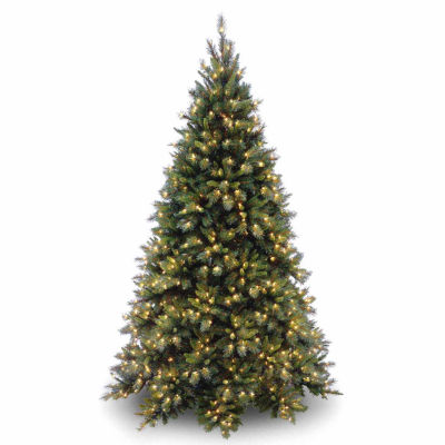 National Tree Co. 7 1/2 Foot Tiffany Fir Fir Pre-Lit Christmas Tree