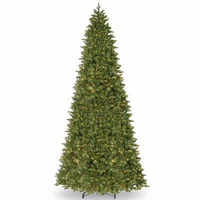 National Tree Co. Ridgewood Spruce Slim Spruce Pre-Lit Christmas Tree