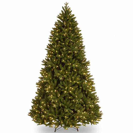 National Tree Co. 7 1/2 Foot Scandanavian Fir Fir Pre-Lit Christmas Tree